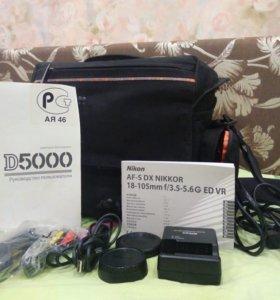 Продаю зеркальный фотоаппарат Nikon D5000