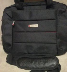 """Фирменая сумка для ноотбука """"BRAUBERG"""""""