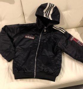 Винтажная куртка Адидас