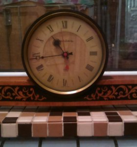 Часы каминные Янтарь