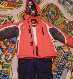 Лыжный костюм на 110-120см.