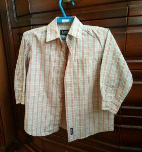 Рубашка H&M р-р 86-92