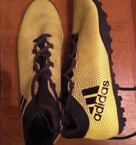 Шиповки adidas x с носком