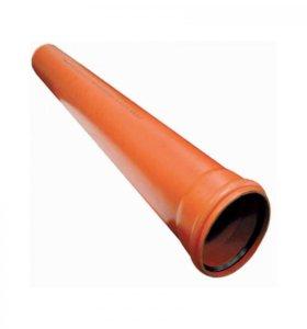 Трубы канализационные наружные, новые, остатки
