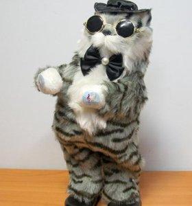 Музыкальный танцующий кот