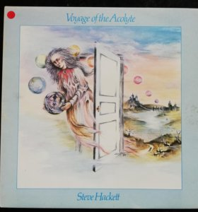 "Steve Hackett - ""Voyage Of The Acolyte"" 1975 UK"