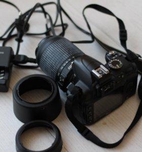 Nikon d-3000 nik55-200