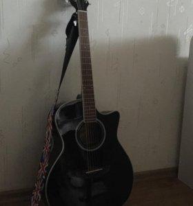 Электро-акустическая гитара Flight AG-210 CEQ BK