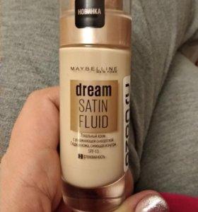 Тональный крем dream satin fluid maybelline тон 3