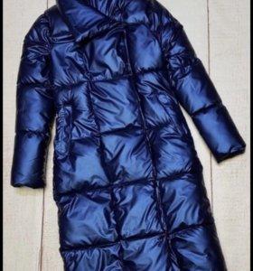 Зимняя куртка пуховик пальто 40-42 Xs