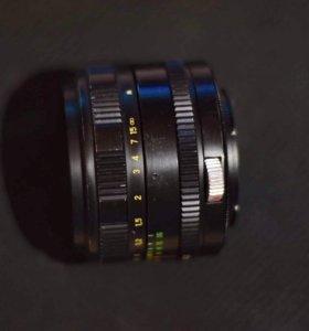 Зенитар-м 50mm 1.7 + переходник