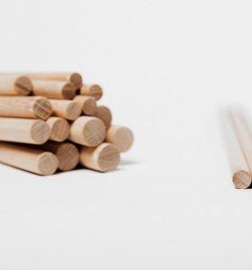Нужны деревянные палочки