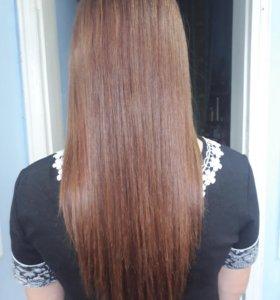 Ботокс волос.Кератиновое выпрямление