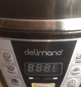 Мультиварка-скороварка Delimano Pressure Multi Coo