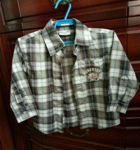 Рубашка р-р 92-98