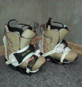 Ботинки Burton для сноуборда с креплениями