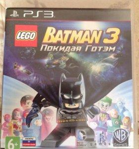 Lego Batman 3 Покидая Готем PS3 игра + подарок