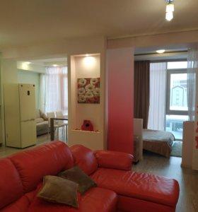 Квартира, студия, 60 м²