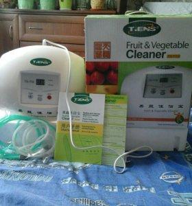 Прибор для очистки фруктов и овощей, воздуха.