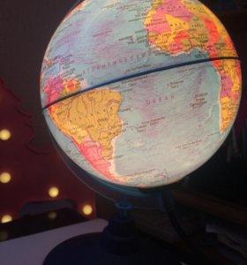 lamp globe 🌎