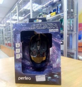Мышь игровая Perfeo PF-1718-GM GALAXY