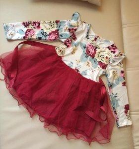 Новое платье 3-4 года