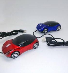 Компьютерная мышь-машинка Ferrari