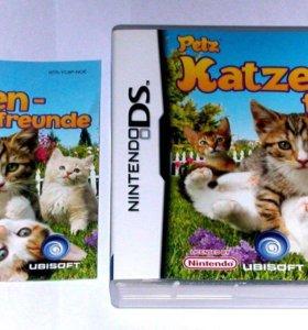 """Игра """"Petz Katzen-Freunde"""" для Nintendo Ds"""