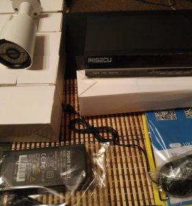Комплект full hd видеонаблюдения с ip камерами