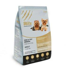 Сухой корм для собак Блитз