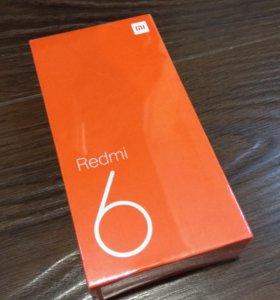 Xiaomi Redmi 6 3/64Gb Global Black (новый)