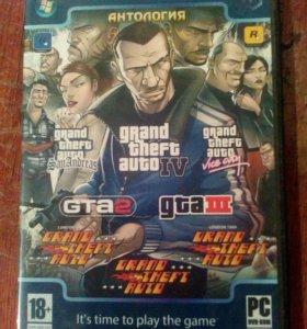 Игра На Пк - Антология GTA