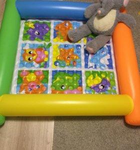 Продаю надувной манеж- матрас для малыша