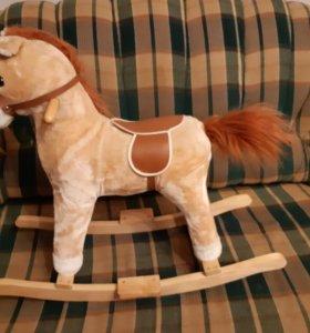 Лошадка качеля