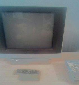 Продам телевизор и дивиди