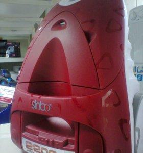Пылесос SINBO SVC 3469 красный 2400W (новый)