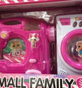 Lol Лол набор Small family Маленькая семья 3