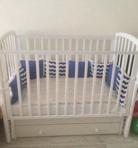Детская кроватка Гандылян, маятник