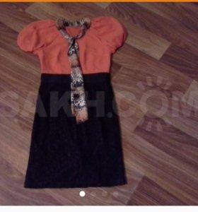 Новое турецкое платье футляр