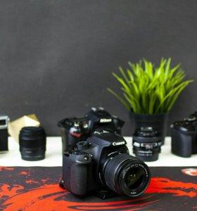 Отличная зеркалка Canon 1200d