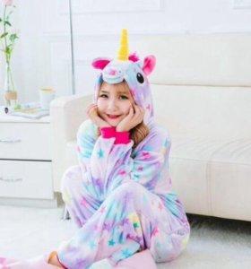 Пижама кигуруми «Единорог»