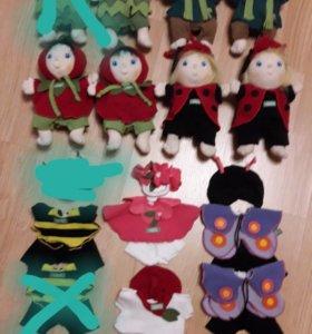 Новые мягкие куколки 25 см