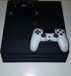PS 4PRO 1TB 2геймп.+13игр