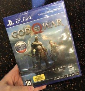 God Of War для PS4 Новая