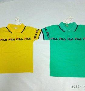 Новые футболки поло.