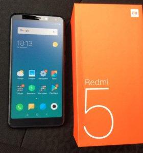 Xiaomi redmi 5 2/16 цена 7500 до конца января