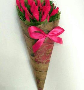 Букет роз из конфет Марсианка
