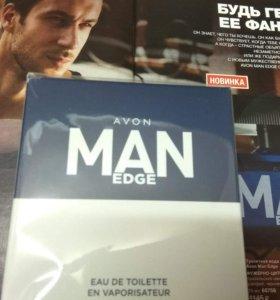 Мужская туалетная вода Man Edge Avon
