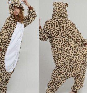Пижама кигуруми «Леопард»
