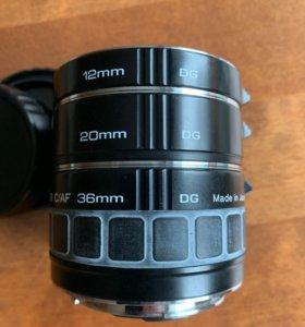 Макрокольца Kenko Extension Tube для Canon